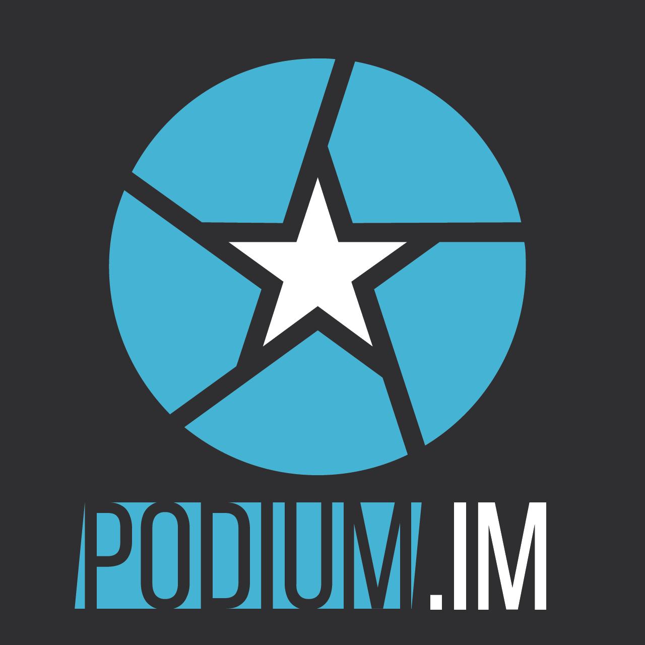 Логотип компании «PODIUM.life»