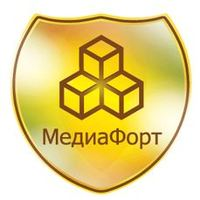 """Логотип компании «""""МедиаФорт""""»"""