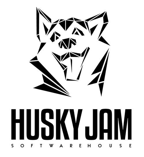 Логотип компании «HuskyJam»