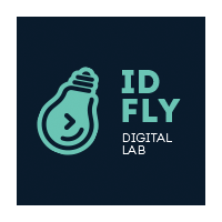 Логотип компании «IDFLY Digital Lab»