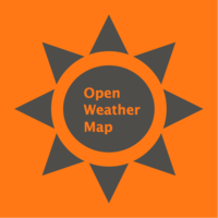 Логотип компании «OpenWeatherMap»