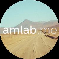 Логотип компании «amlab.me»