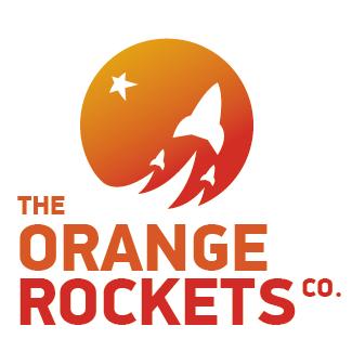 Логотип компании «Orange Rockets»