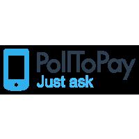 Логотип компании «PollToPay»