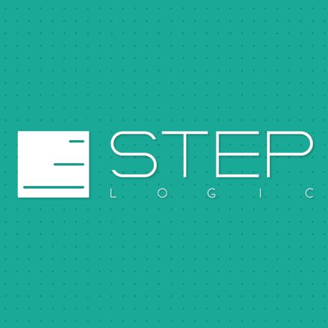 Логотип компании «Step Logic»