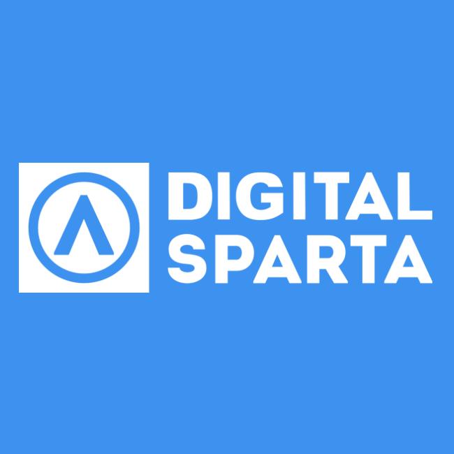 Логотип компании «Digital Sparta»