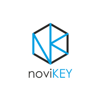 Логотип компании «noviKEY»