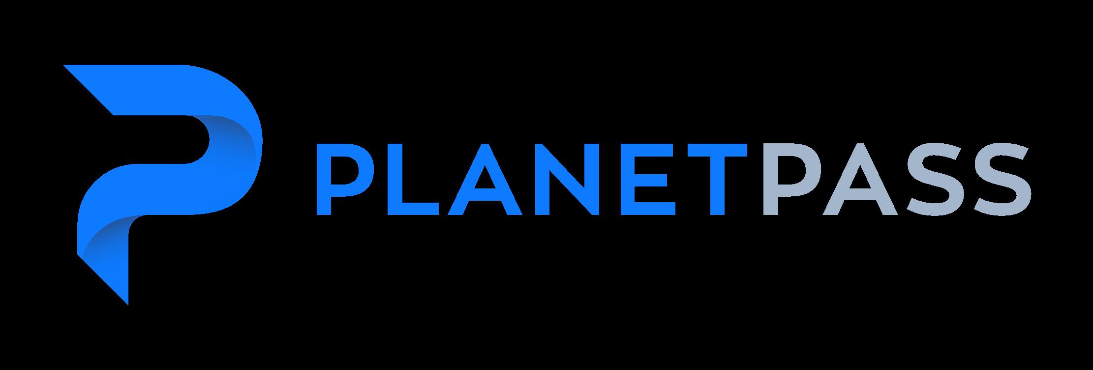 Логотип компании «PlanetPass»