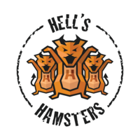 Логотип компании «HellsHamsters»
