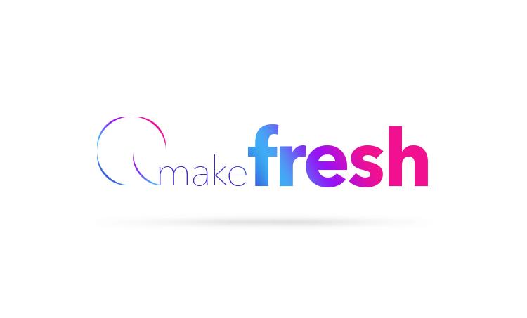 Логотип компании «makefresh»