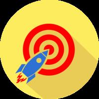 Логотип компании «RocketLP»