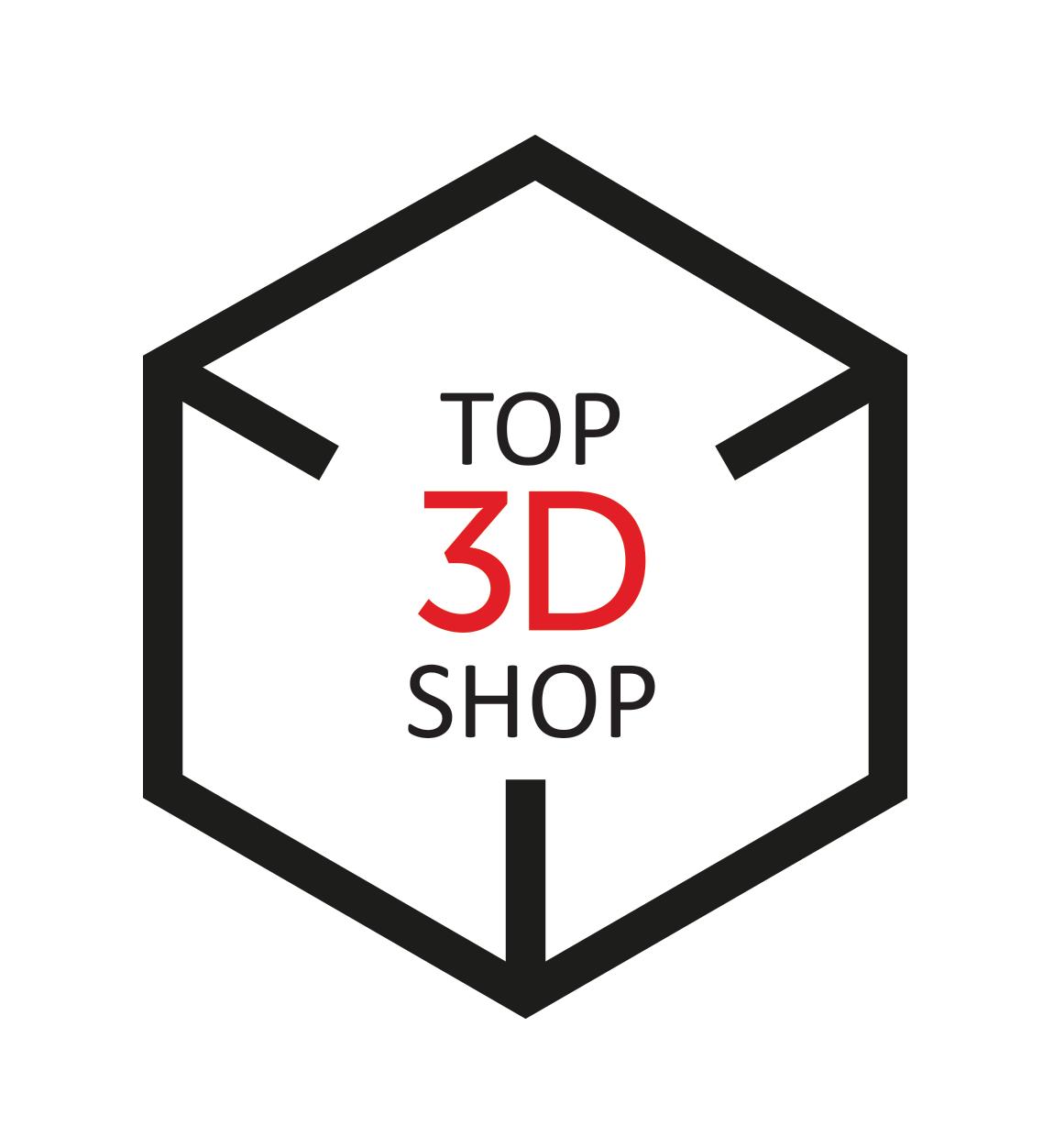 Логотип компании «Top 3D Shop»