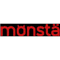 Логотип компании «monstä»