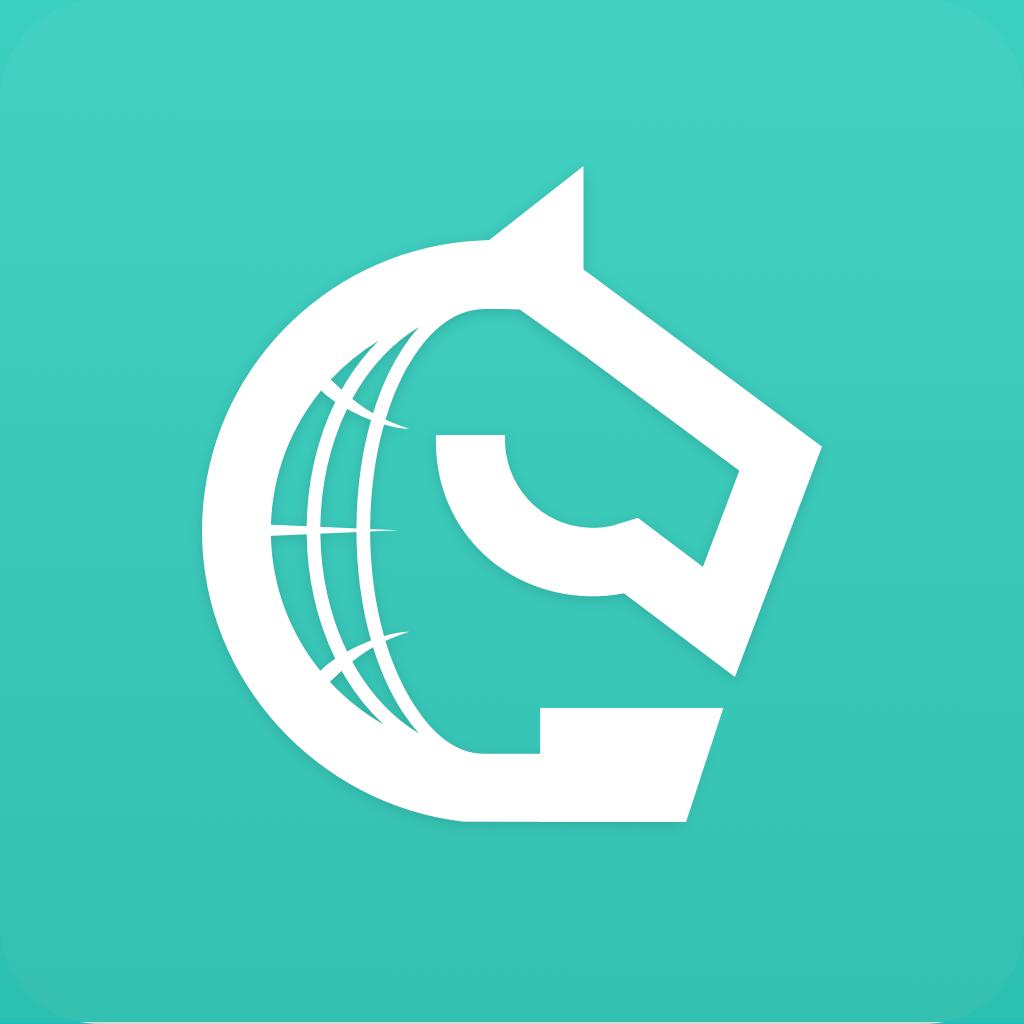 Логотип компании «Gallop Travel»