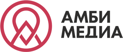 Логотип компании «Амби медиа»