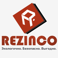 "Логотип компании «RezInCo - ""Резиновая плитка""»"