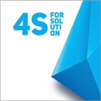 Логотип компании «4Sol Agency»