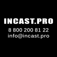 Логотип компании «ООО INCAST.PRO»