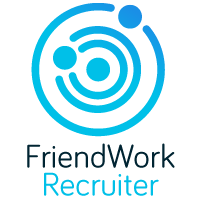 Логотип компании «FriendWork Recruiter»