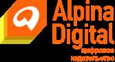 Логотип компании «Alpina Digital»