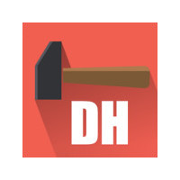 Логотип компании «Digital Hammer»