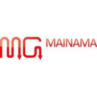 Логотип компании «MAINAMA GAMES»