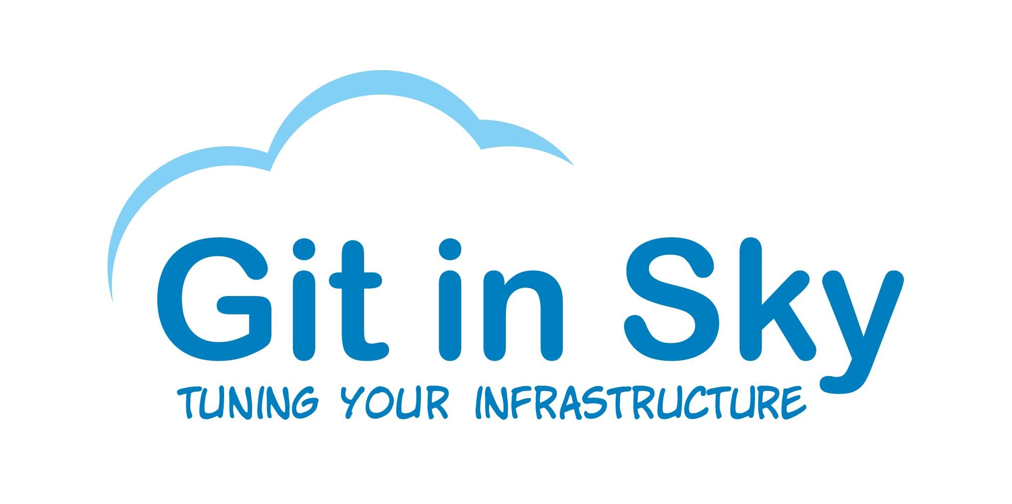 Логотип компании «Git in Sky»