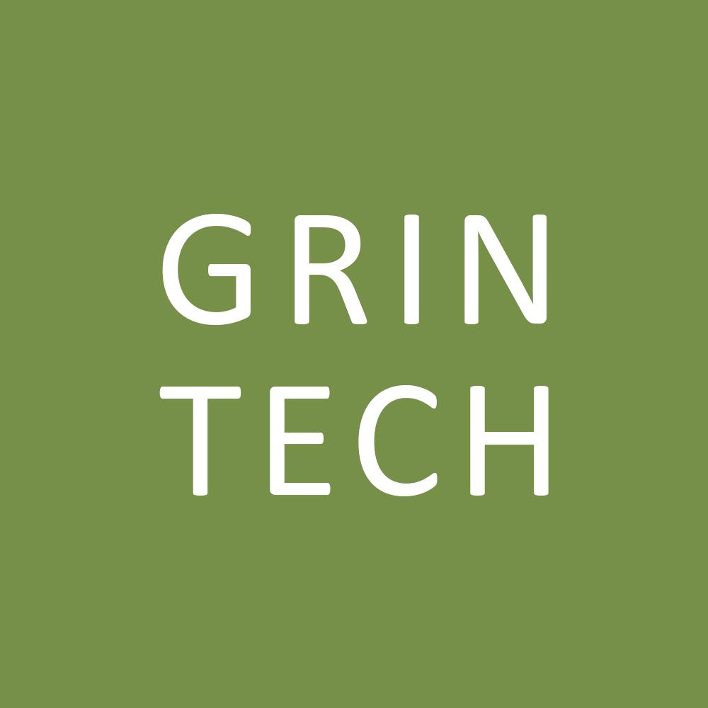 Логотип компании «GRIN tech»