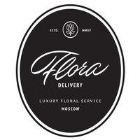 Логотип компании «Flora Delivery»