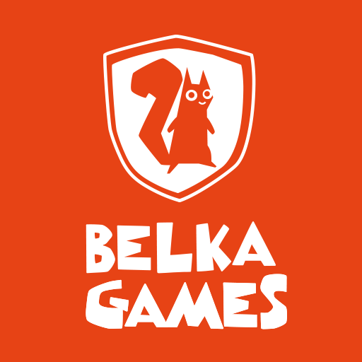 Логотип компании «Belka Games»