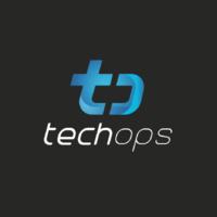 Логотип компании «TechOps»