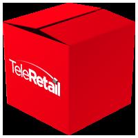 Логотип компании «TeleRetail»