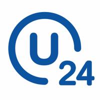 Логотип компании «U24 — все услуги в одном приложении»