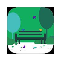 Логотип компании «ParkSeason»