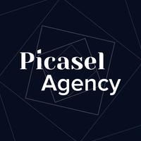 Логотип компании «Picasel Agency»