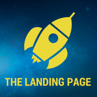 Логотип компании «The Landing Page»