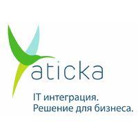 Логотип компании «Атика»