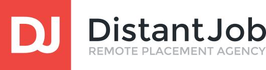 Логотип компании «Distant Job»