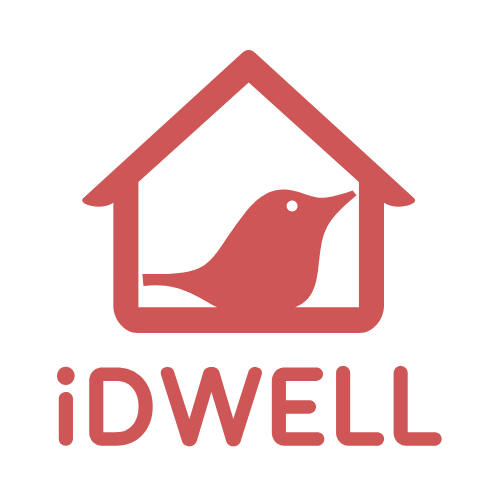 Логотип компании «iDWELL»
