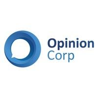 Логотип компании «Opinion Corp»