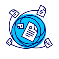 Логотип компании «ГК «Управление информационными проектами»»