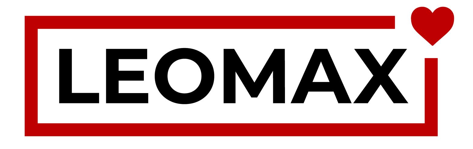 Логотип компании «LEOMAX»