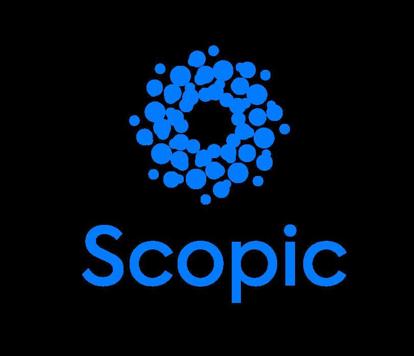Логотип компании «Scopic»