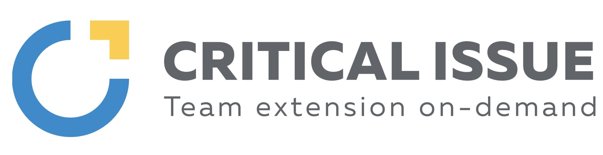 Логотип компании «Critical Issue»