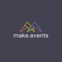 Логотип компании «make.events»