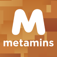 Логотип компании «Metamins»