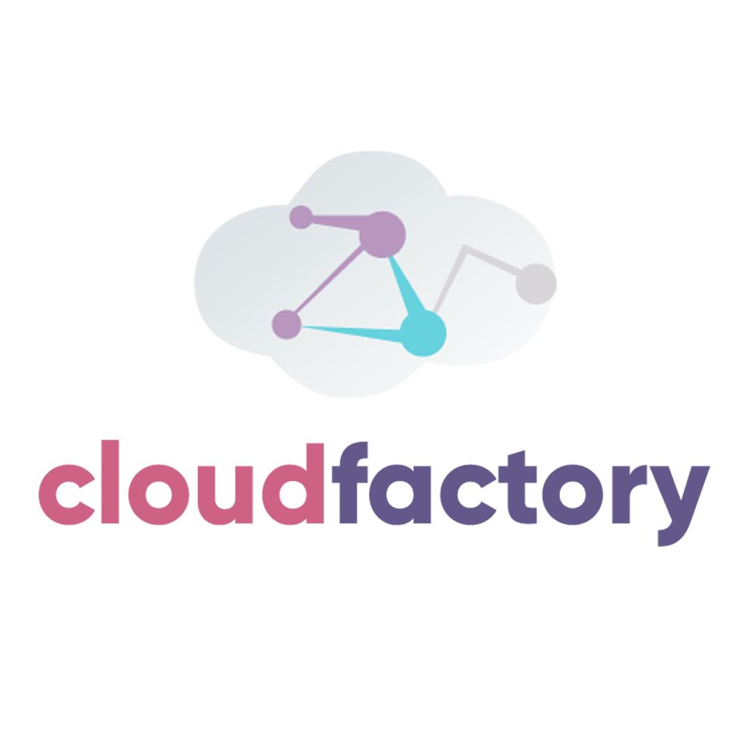 Логотип компании «CloudFactory»