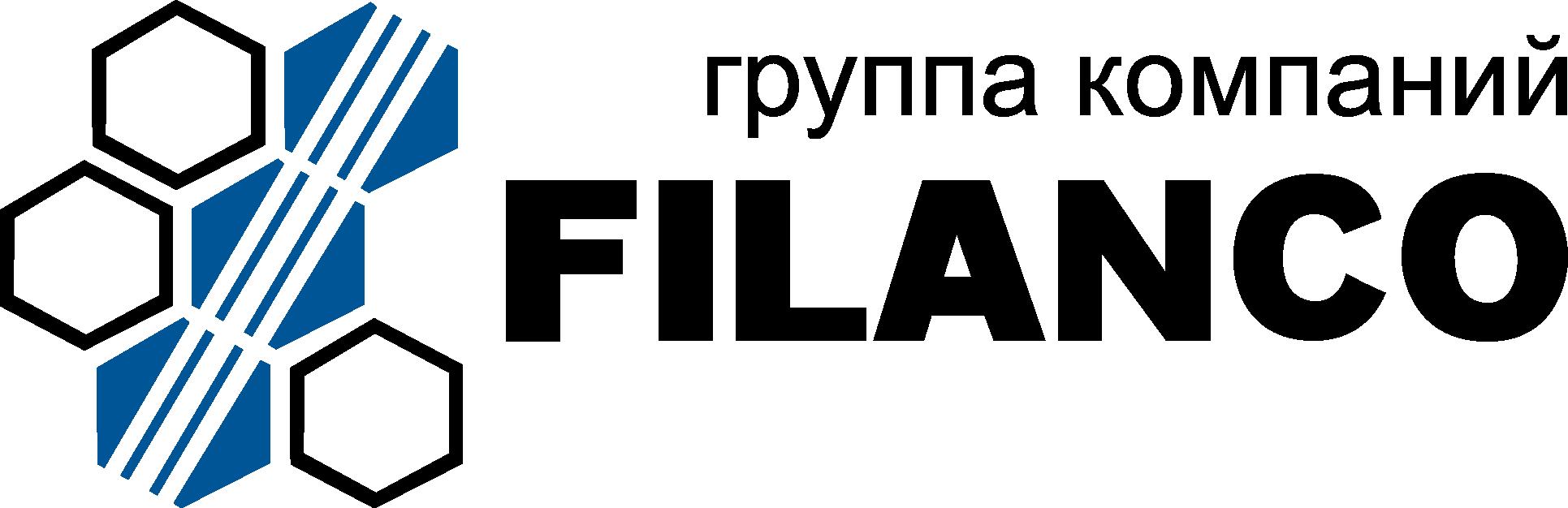 Логотип компании «ГК ФИЛАНКО»