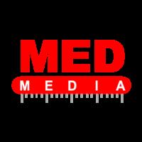 Логотип компании «МЕД-МЕДИА»