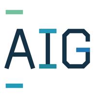 Логотип компании «AIG»